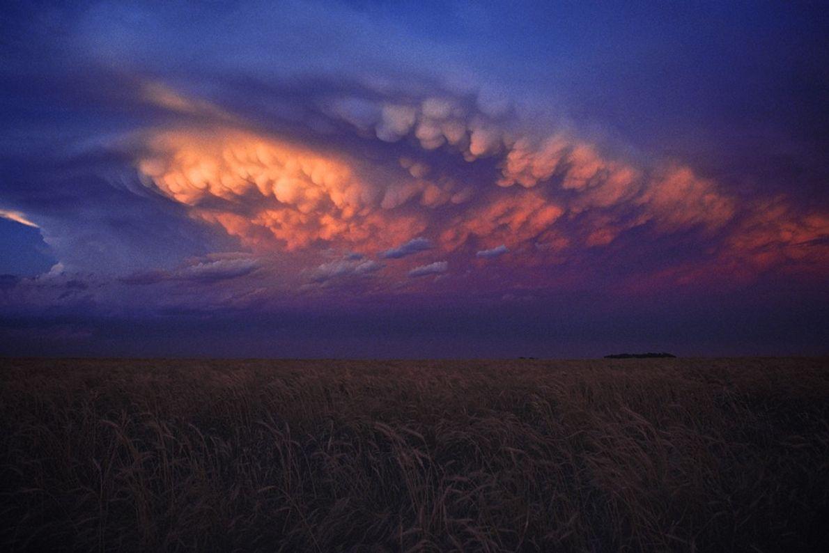 Pôr-do-Sol Depois de uma Tempestade, Kansas