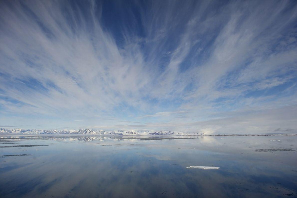 Águas Tranquilas, Svalbard