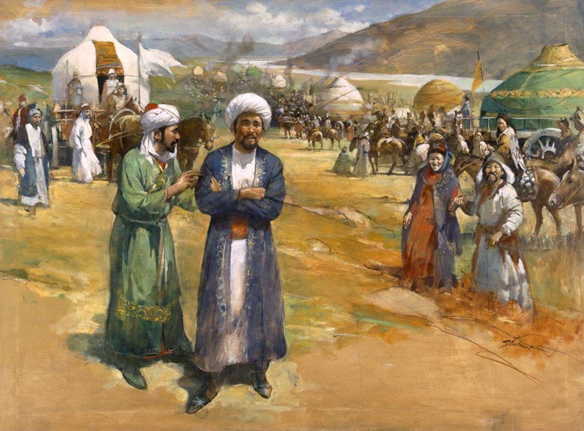 O TROTA-MUNDOS: IBN BATTUTA (1304–1369)