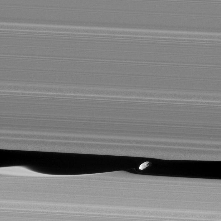 Dafnis, lua de Saturno