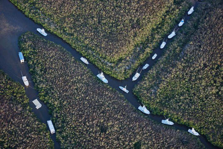 Fotografia aérea Furacão Irma