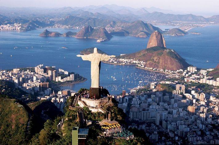 Cristo Redentor, Rio de Janeiro, Brasil.