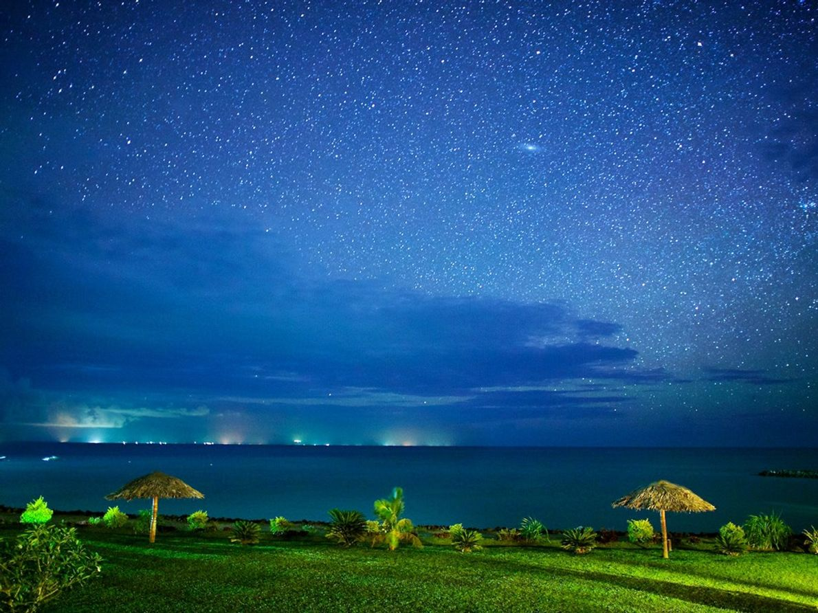 Vista Noturna, Samoa Americana Equipa-te, Depois Improvisa