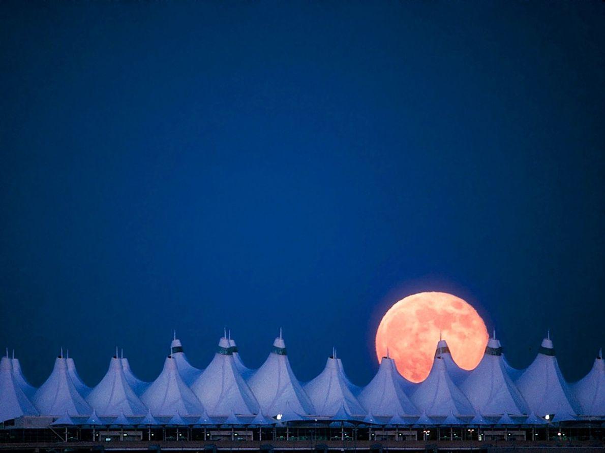Lua Cheia, Denver Conheça a Lua e as Estrelas