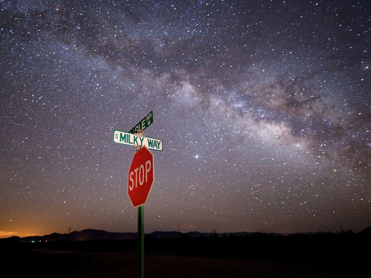Via Láctea, Arizona