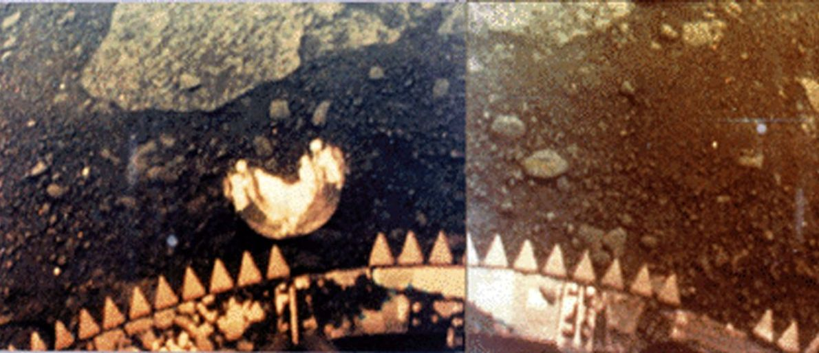 A Primeira Fotografia a Cores de Vénus