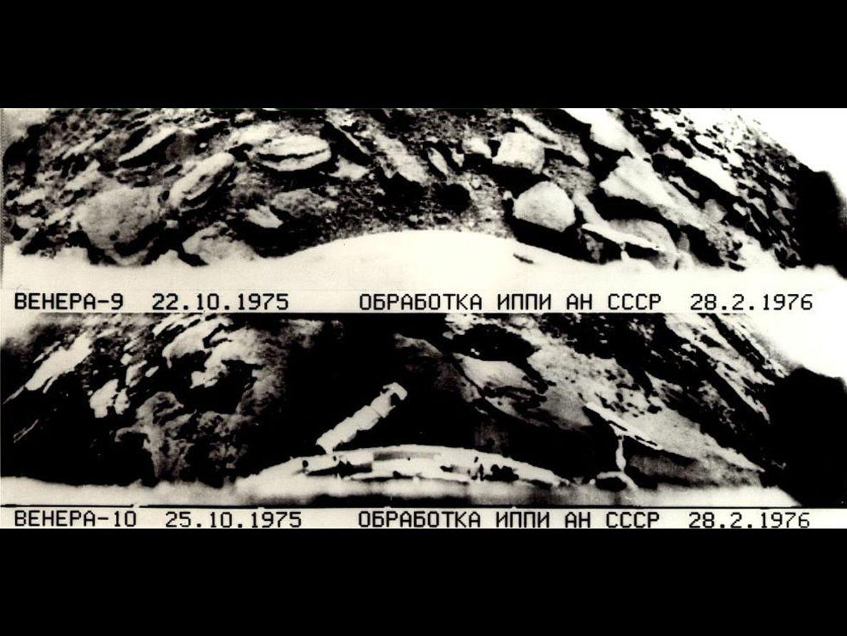 As Primeiras Fotografias da Superfície de Outro Planeta