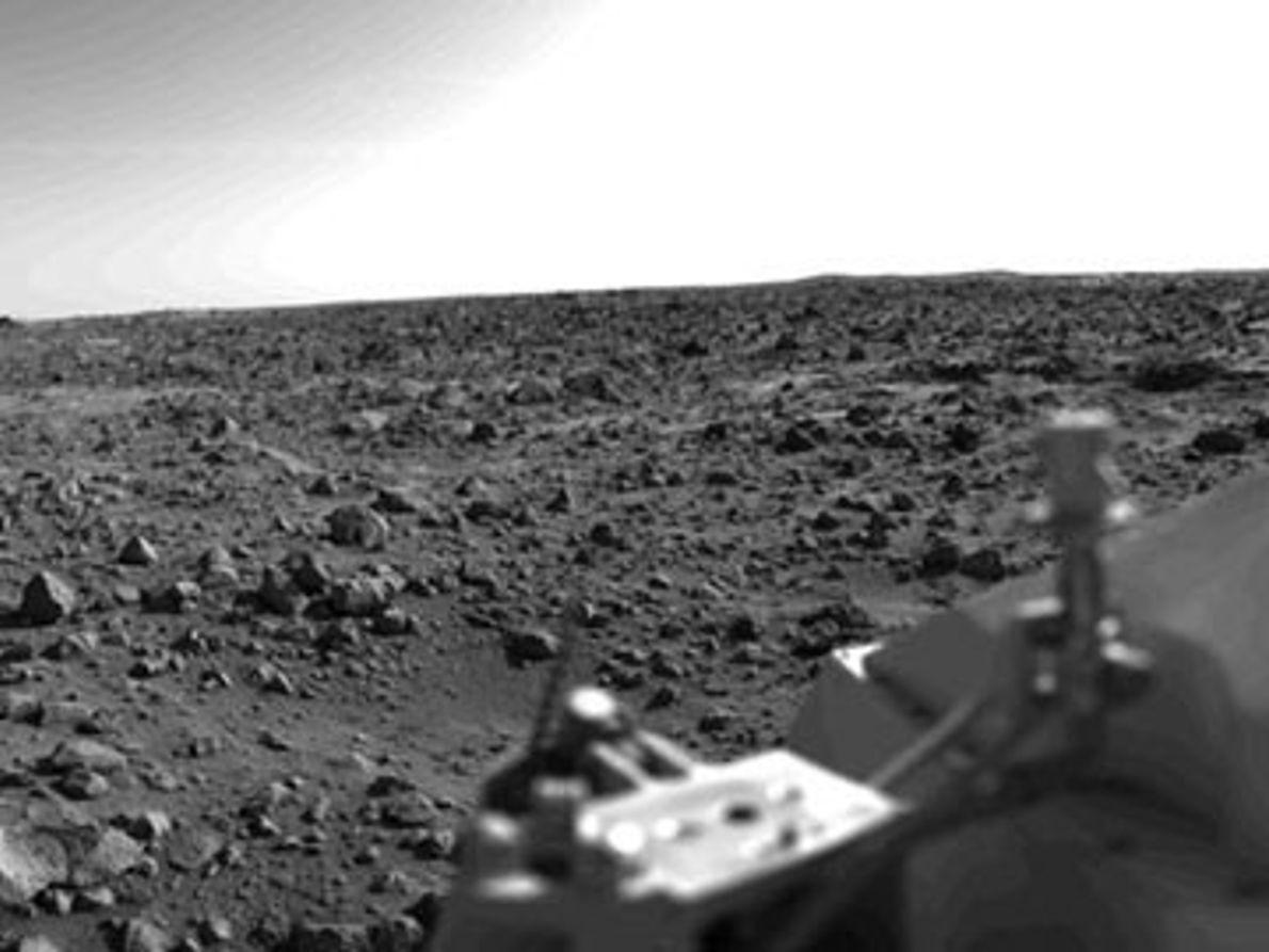 A Primeira Fotografia Panorâmica de Marte