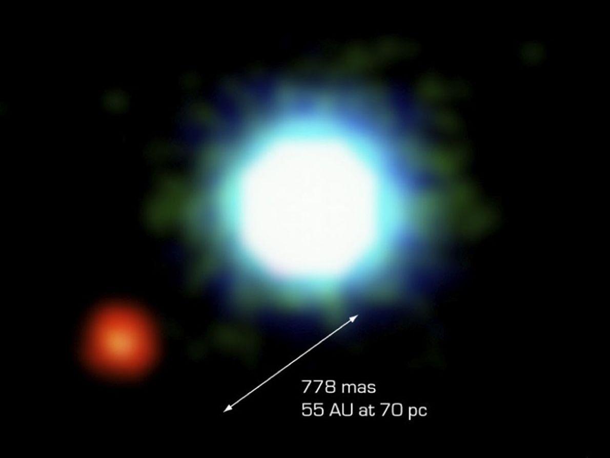 A Primeira Fotografia de um Exoplaneta