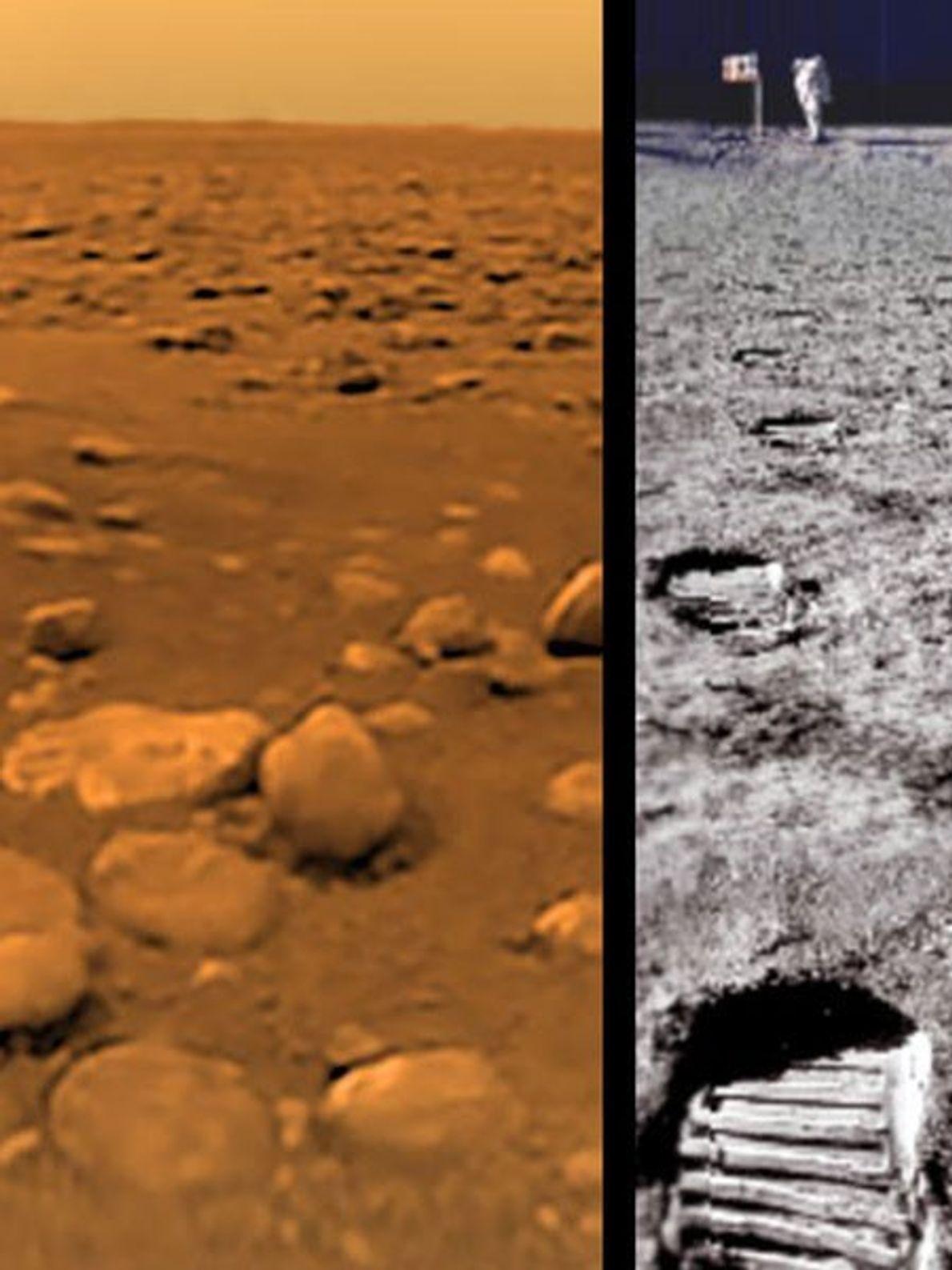 A Primeira Fotografia de Titã