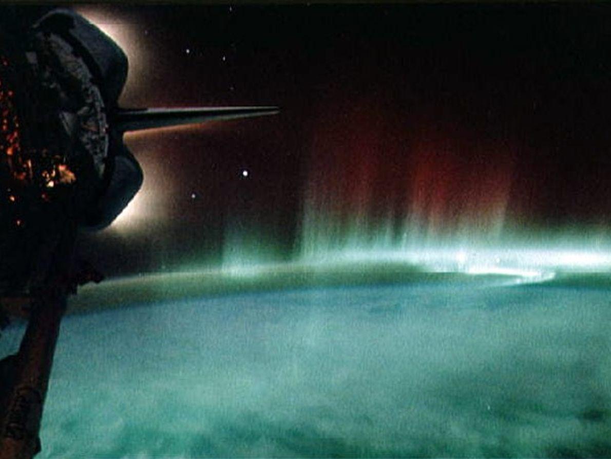 Auroras e magnetosfera