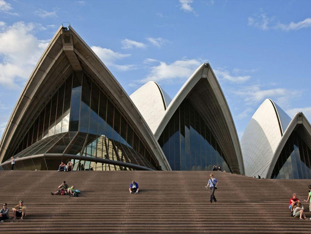 A Ópera de Sydney é uma imagem icónica da maior cidade australiana