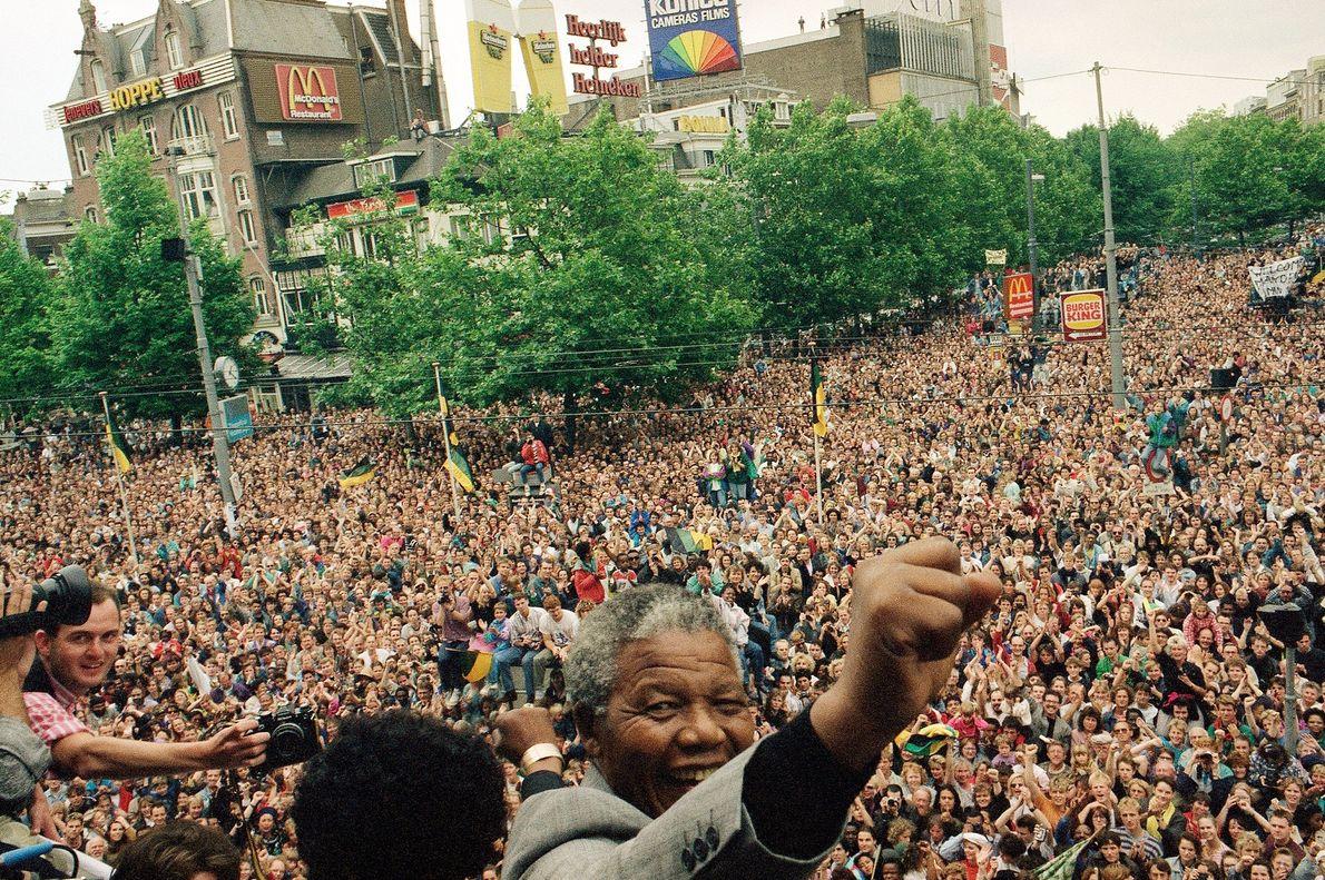 Nelson Mandela no Estrangeiro