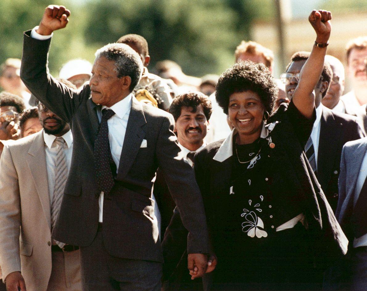 Nelson Mandela Libertado