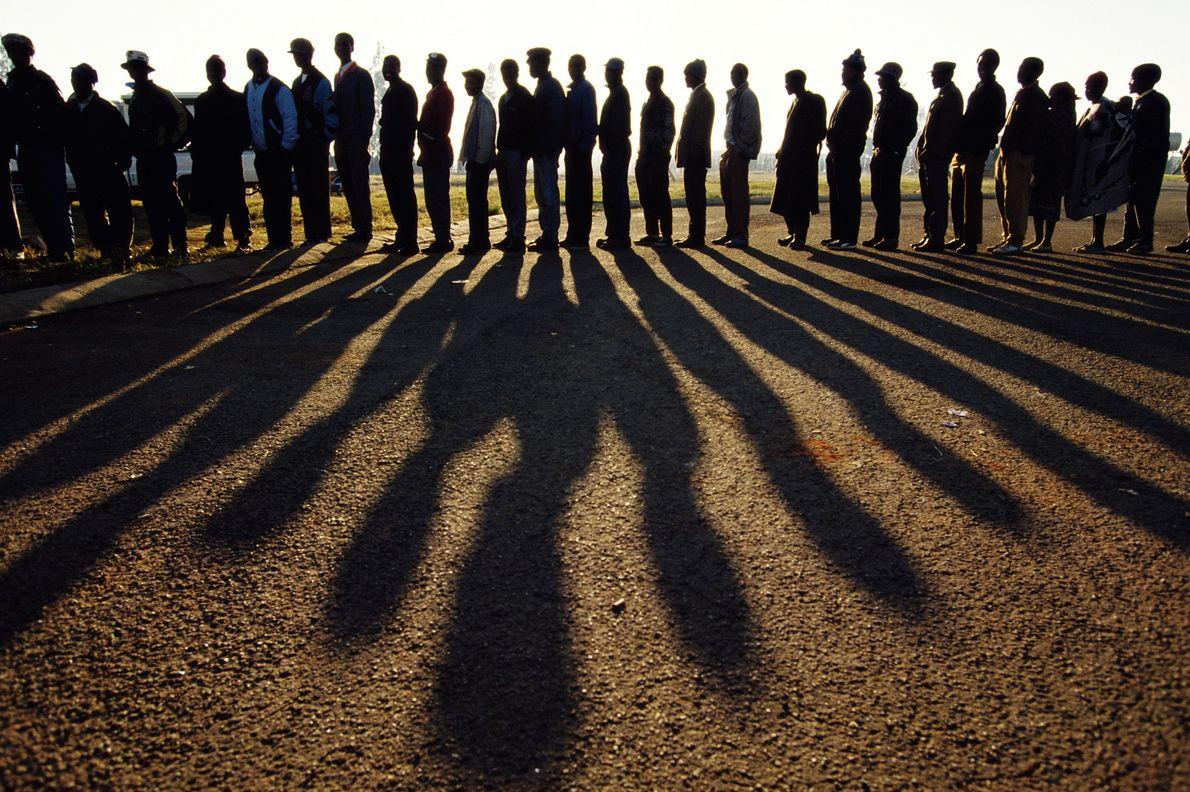 A primeira eleição multiracial da África do Sul