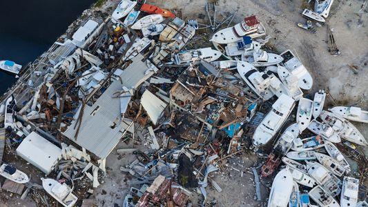Fotografias Aéreas Mostram Devastação nas Florida Keys