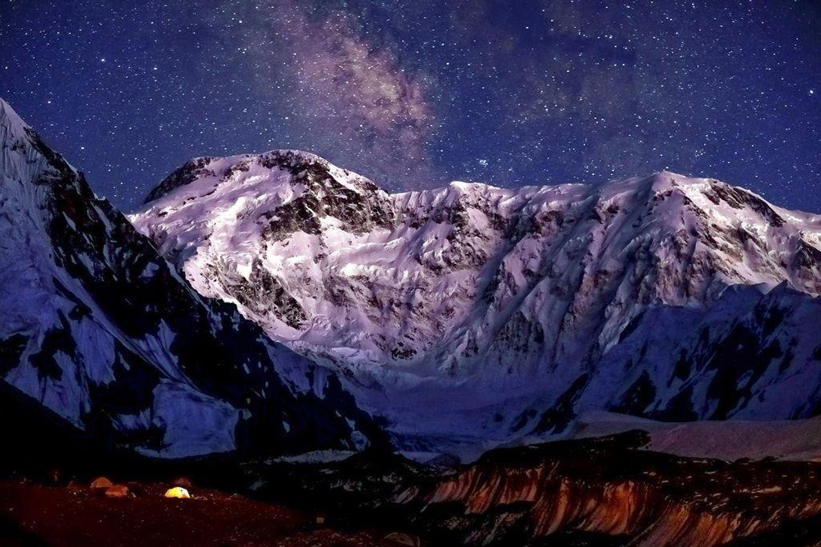 Jengish Chokusu - Pico Mais Alto do Quirguistão (7349 m)