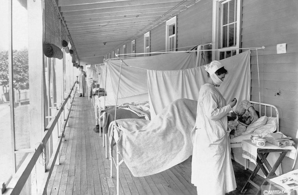 Pacientes da gripe