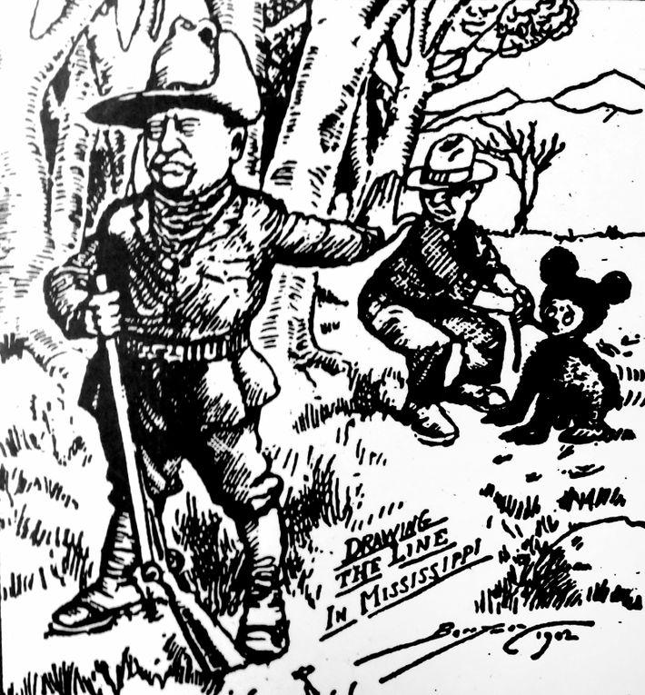 caricatura de Theodore 'Teddy' Roosevelt