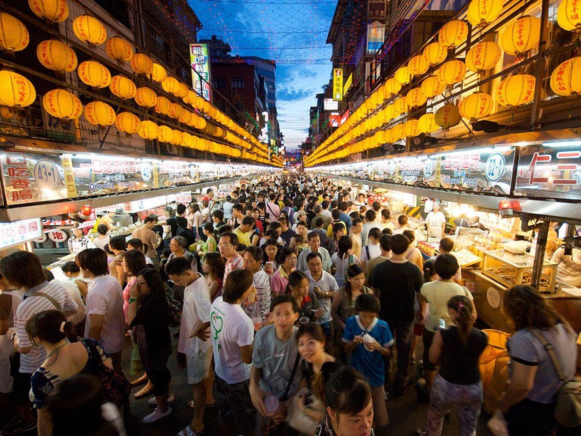 Mercado Miaokou , Taiwan