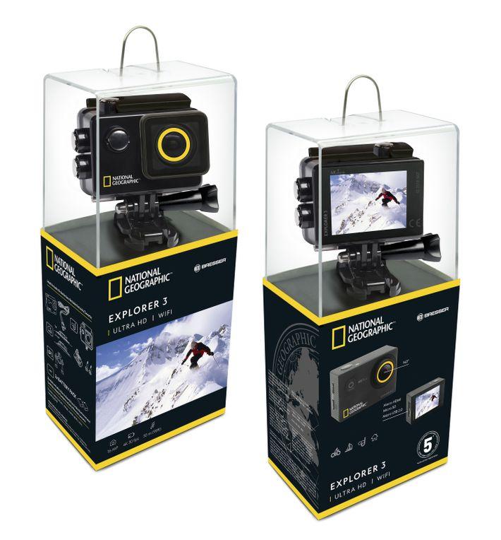 Action Cam Explorer 3 da National Geographic