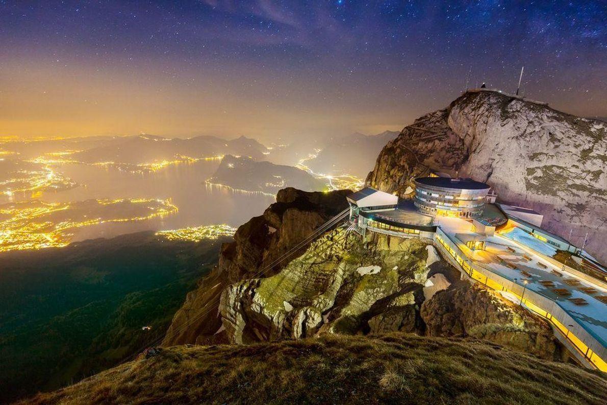Monte Pilatus na Suíça