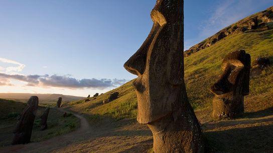 Moai.