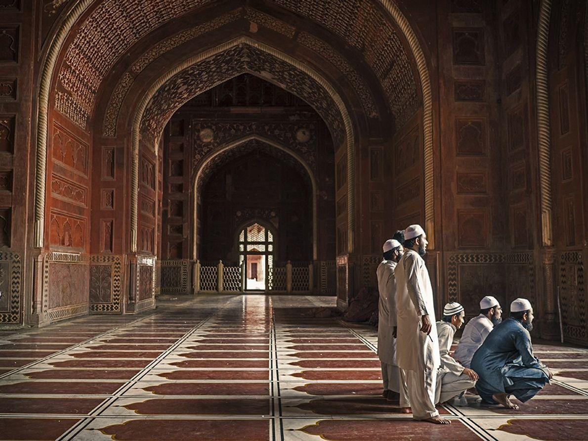 A Mesquita do Taj Mahal