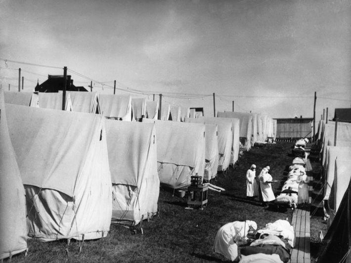 Pacientes da gripe de 1918