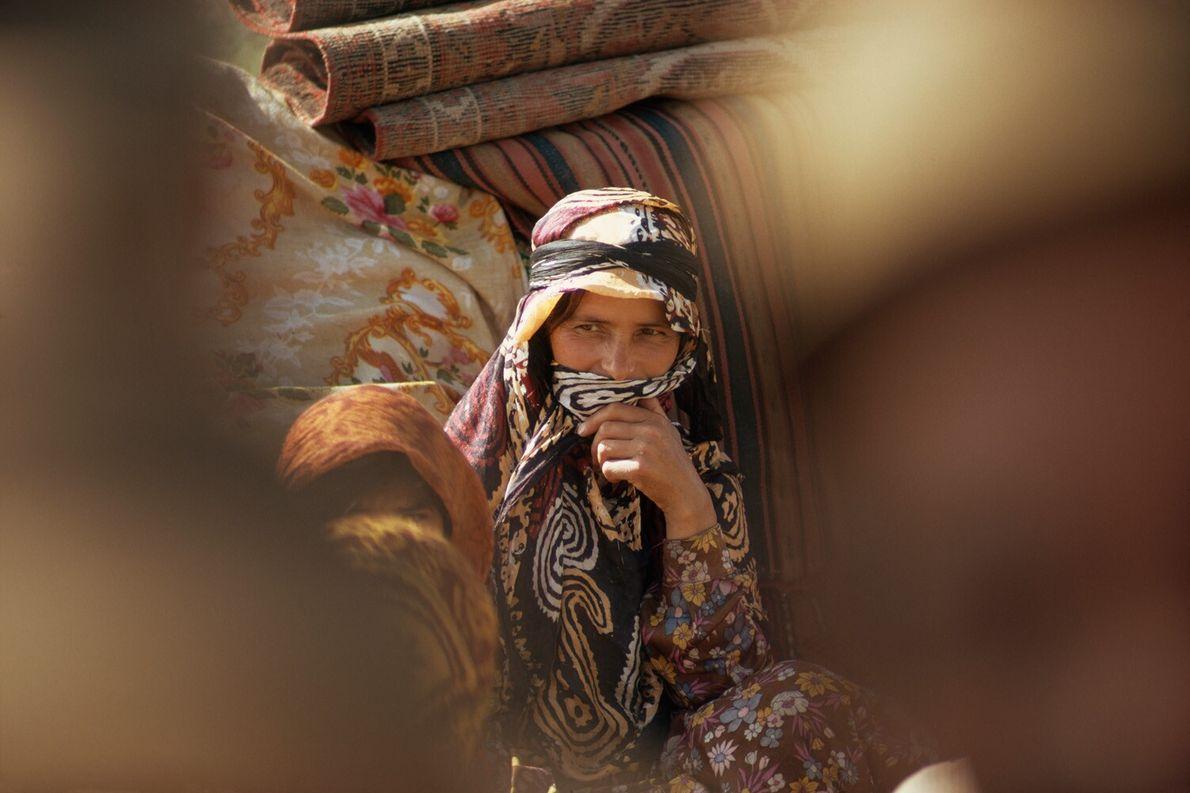 mulher Shahsavan