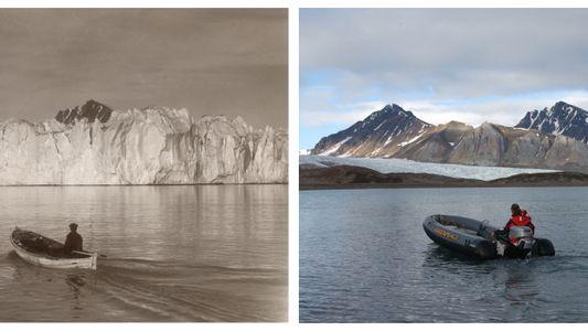 Fotografias Mostram o Impacto Dramático Que as Alterações Climáticas Têm no Ártico