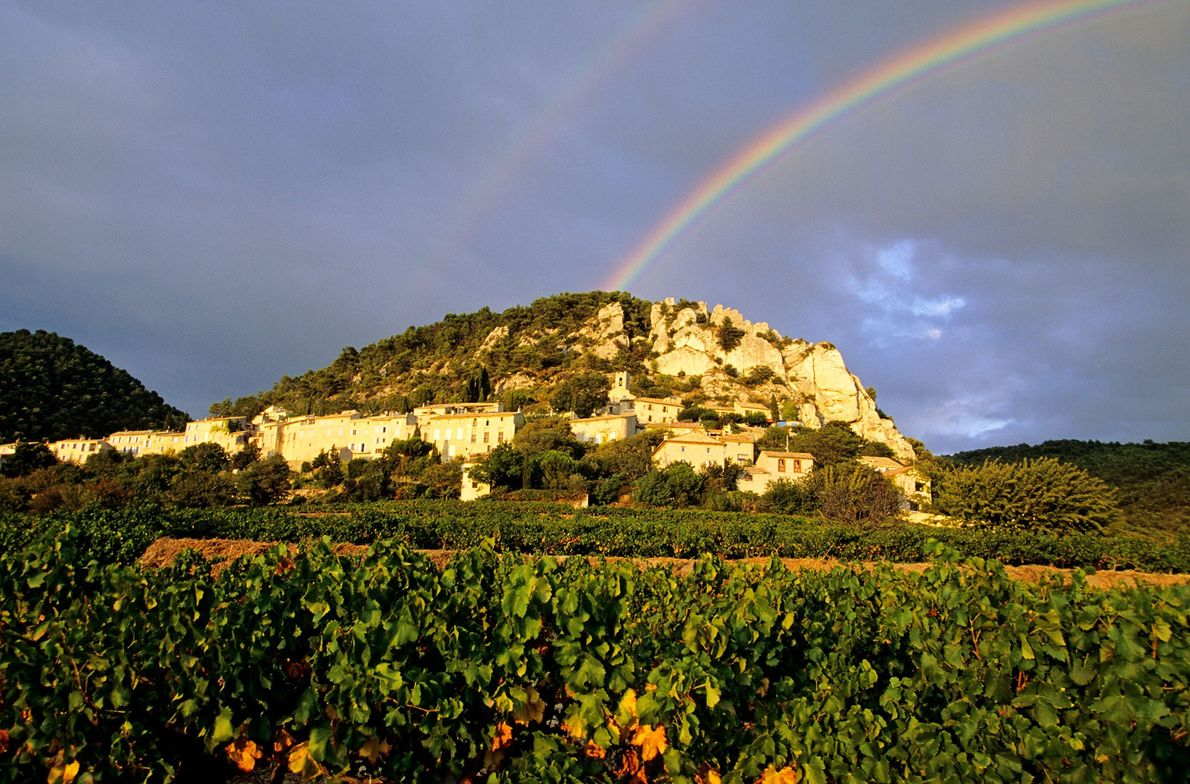 Imagem de Les Dentelles de Montmirail, França