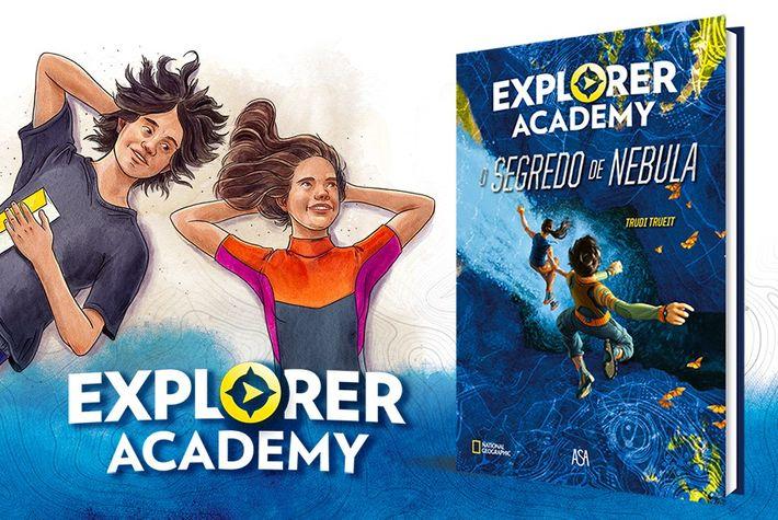 Capa do livro 'Explorer Academy - O Segredo de Nebula'