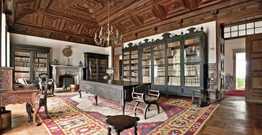 Biblioteca do Palácio da Brejoeira