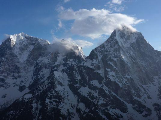 Criar Uma Reconstrução Virtual do Acampamento-base do Evereste