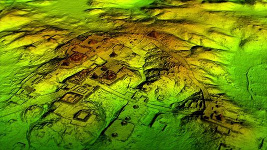 Exclusivo: Uma Deteção Laser Revela Uma Megacidade Maia por Baixo da Selva Guatemalteca