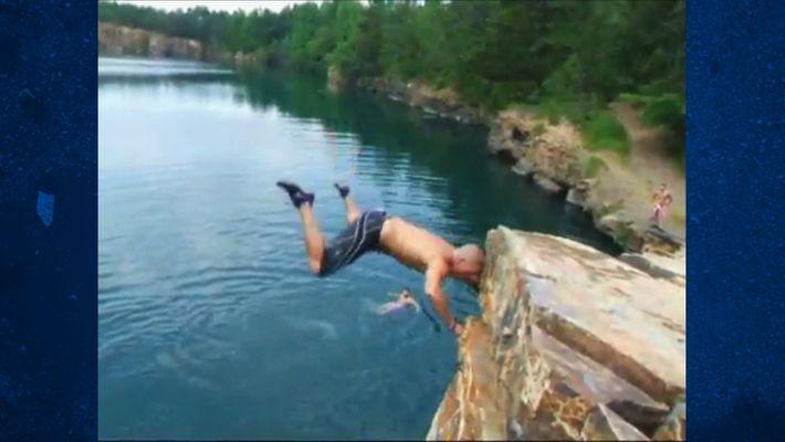 Cliff Falling