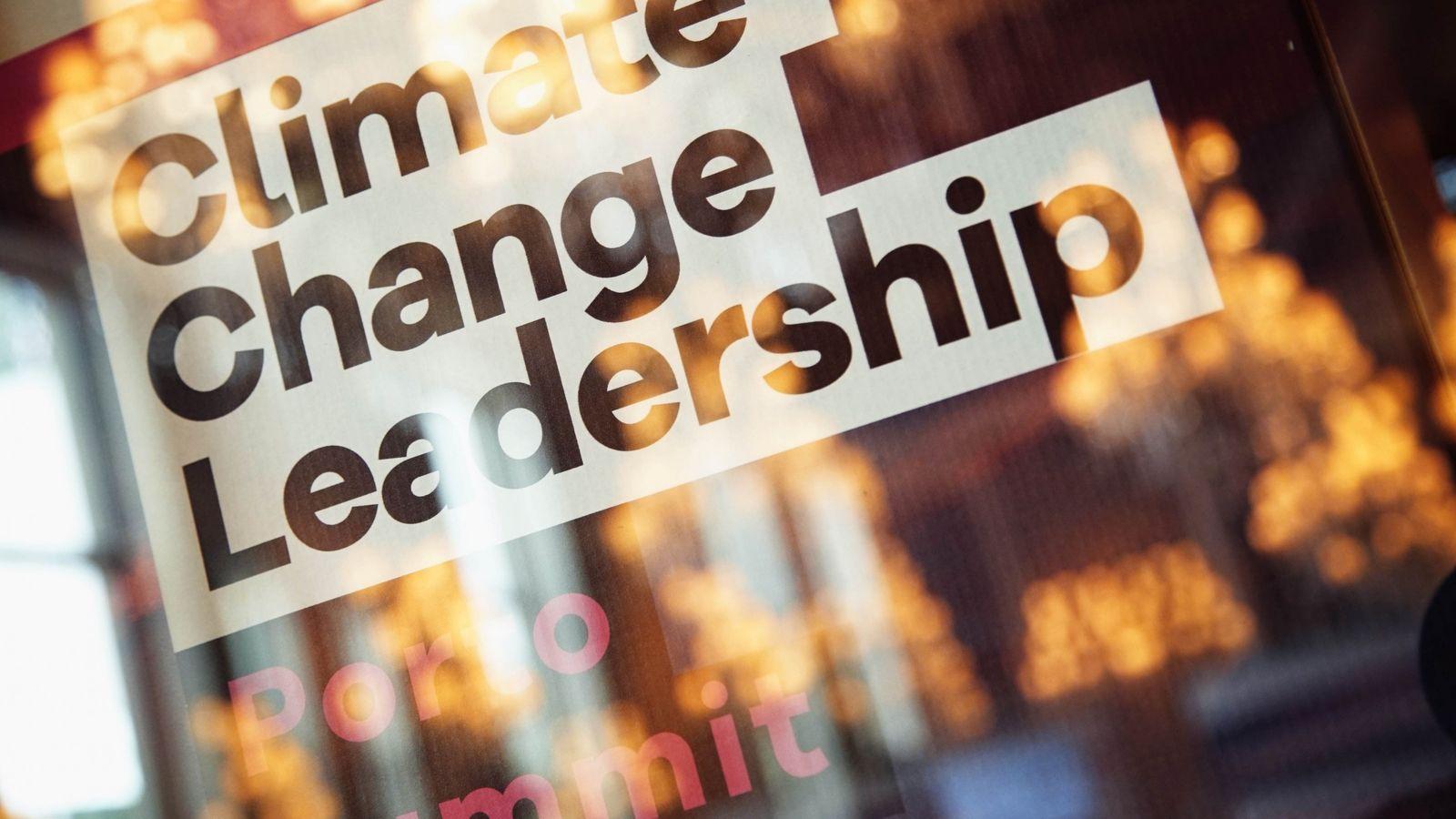 Climate Change Leadership Porto Summit 2018