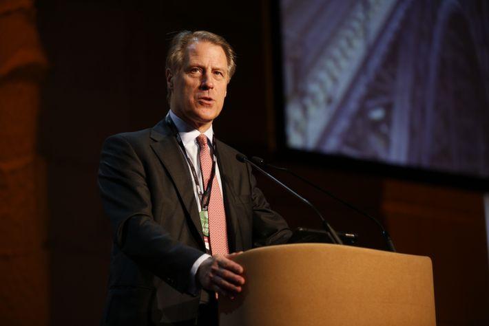 Adrian Bridge, diretor-geral da Taylor's e organizador do evento
