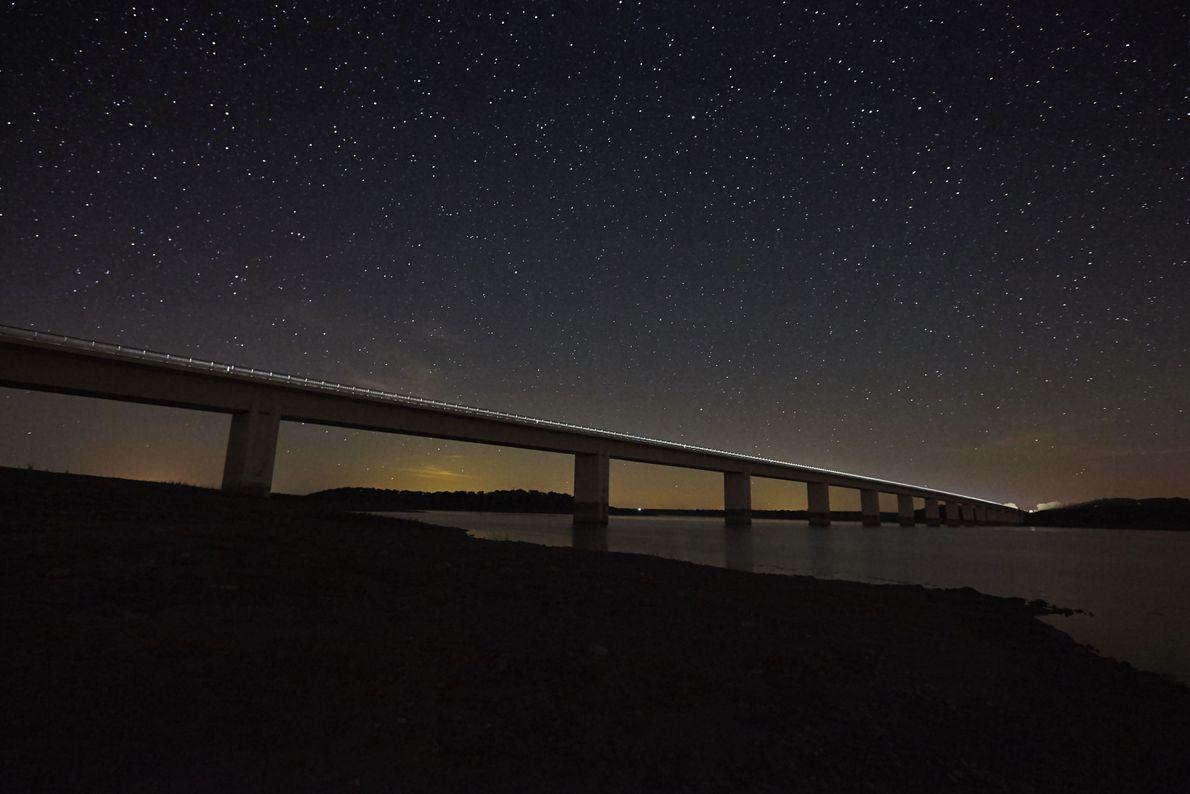 Ponte junto ao Alqueva