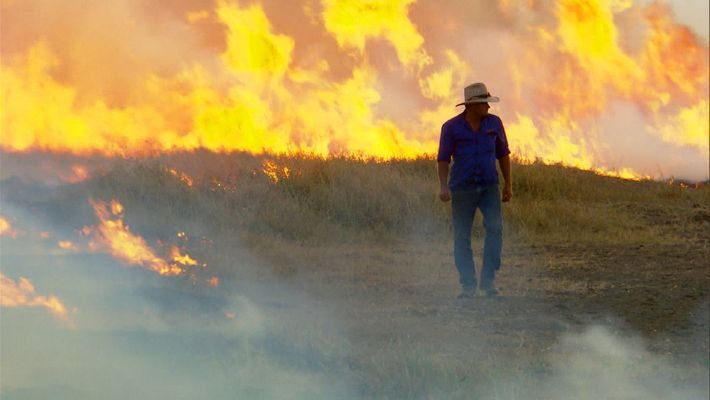 Controled fires in Australia