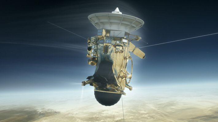 Colidir com Saturno: Esta Missão da Cassini é a Mais Épica