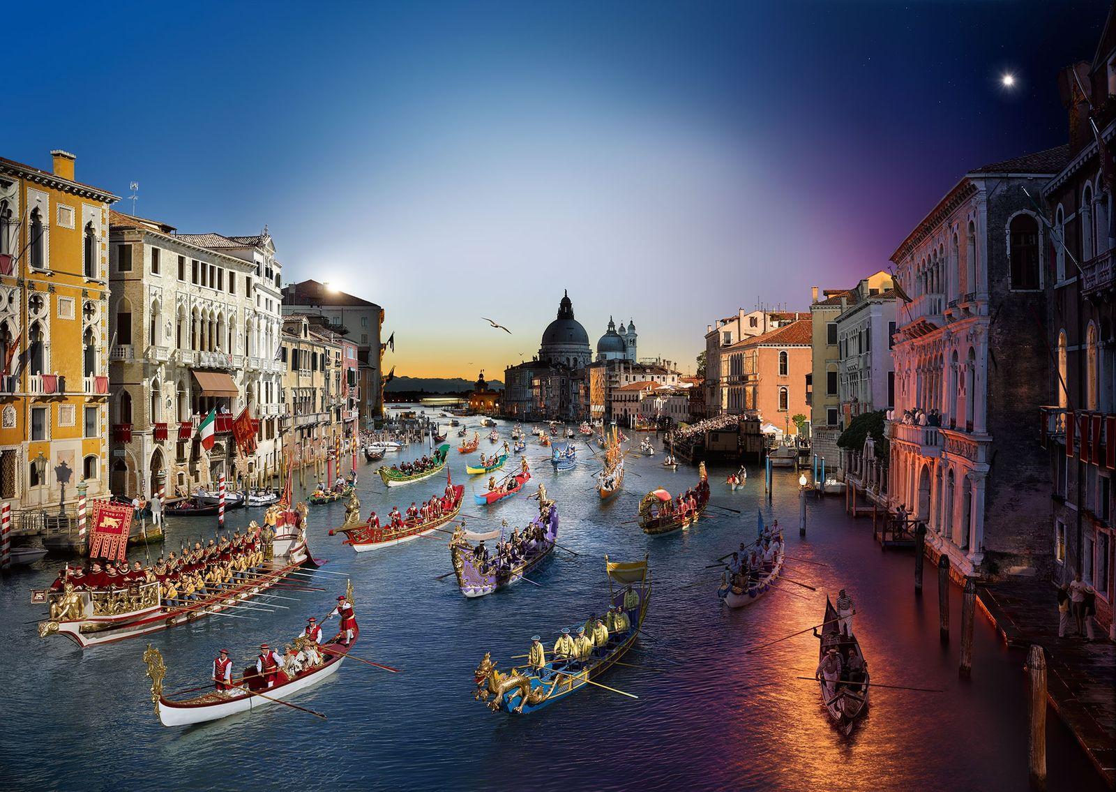 Regata Storica, Veneza.