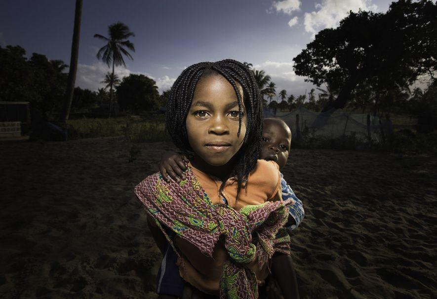 Uma imagem da aclamada fotógrafa e videógrafa.
