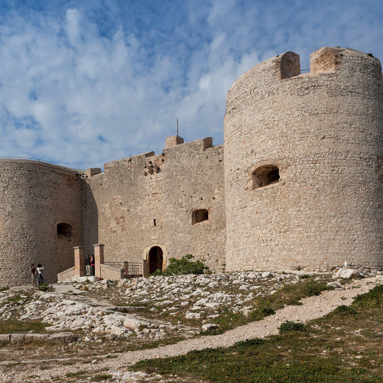 Castelo-Prisão de If, em Marselha