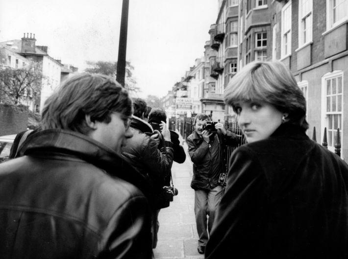 Princesa Diana com 19 anos em Londres