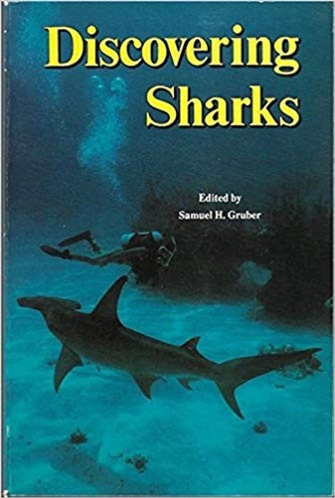 Livro 'Discovering Sharks' de Samuel H. Gruber