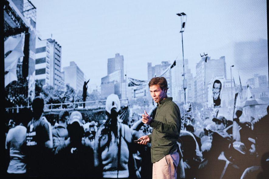 Eduardo Leal no National Geographic Exodus Aveiro Fest