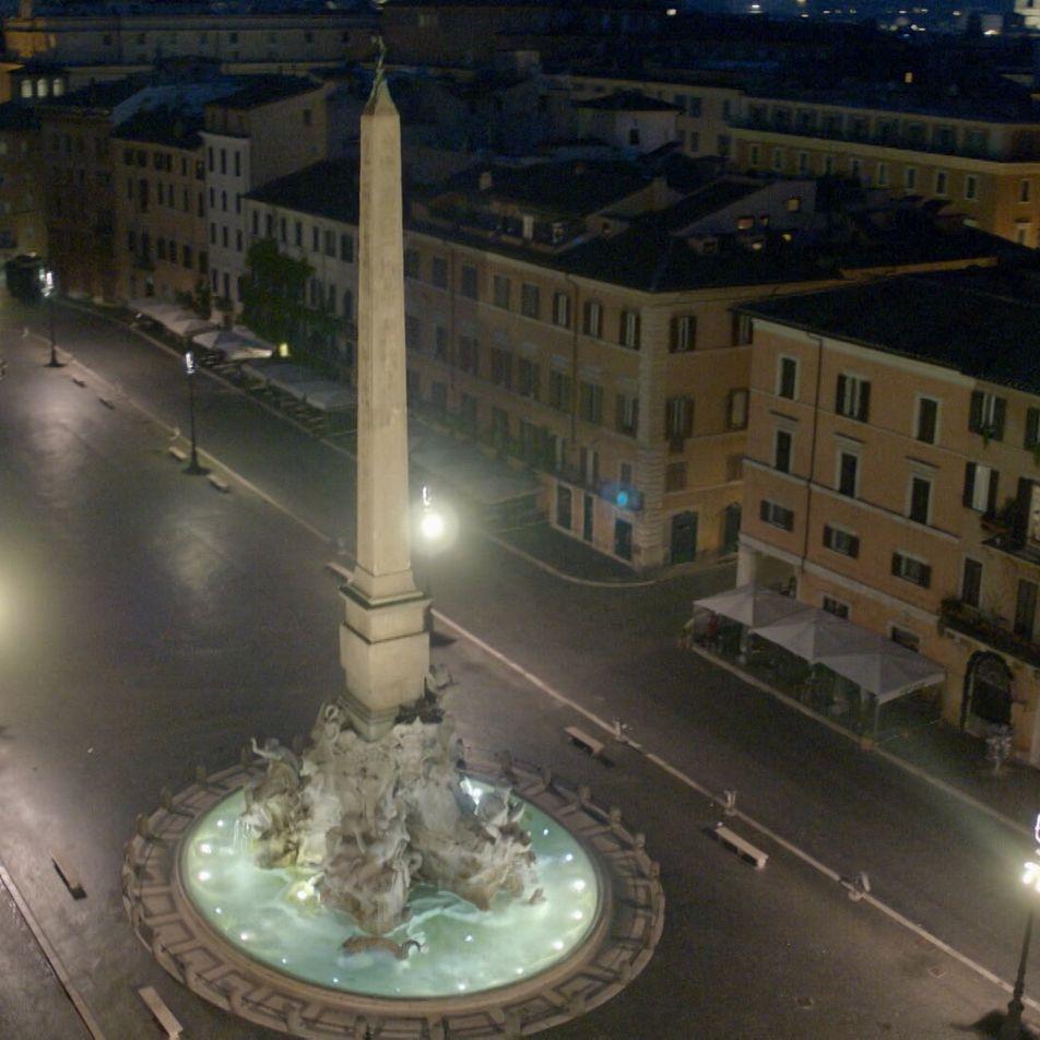 Uma Corrida Invulgar na Cidade do Vaticano