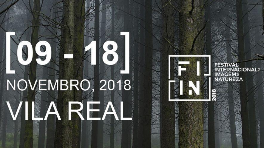 Imagem do cartaz do Festival Internacional de Imagem de Natureza